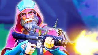 THE BEST PLACE TO LAND IN FORTNITE - Fortnite Battle Royale Wizard Skin Gameplay