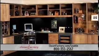 Custom Closets By Closet Factory - Built Around You