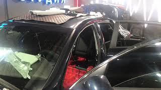 KIA Optima внутренняя шумоизоляция - стандартная шумка с обязательным разбором салона автомобиля