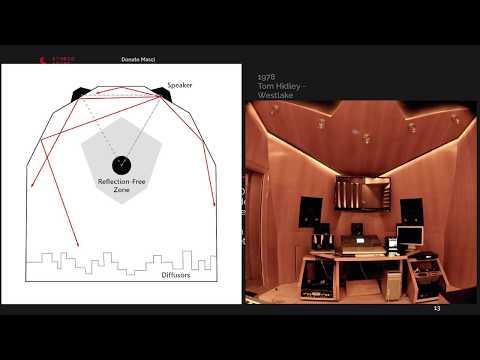 Donato Masci speaks at LLB  2018 on Studio Design and Multichannel Audio