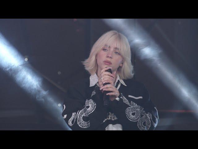 Billie Eilish - Happier Than Ever (Jimmy Kimmel Live 2021)