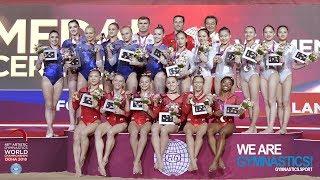 2018 Artistic Worlds, Doha (QAT) - HIGHLIGHTS - Women's Team Final - We Are Gymnastics !