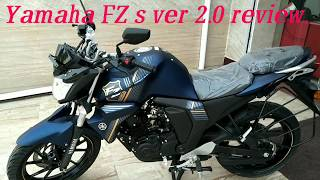 Yamaha FZS Ver 2.0 2018 review. Top speed, real mileage, exhaust sound, pros & cons. etc..