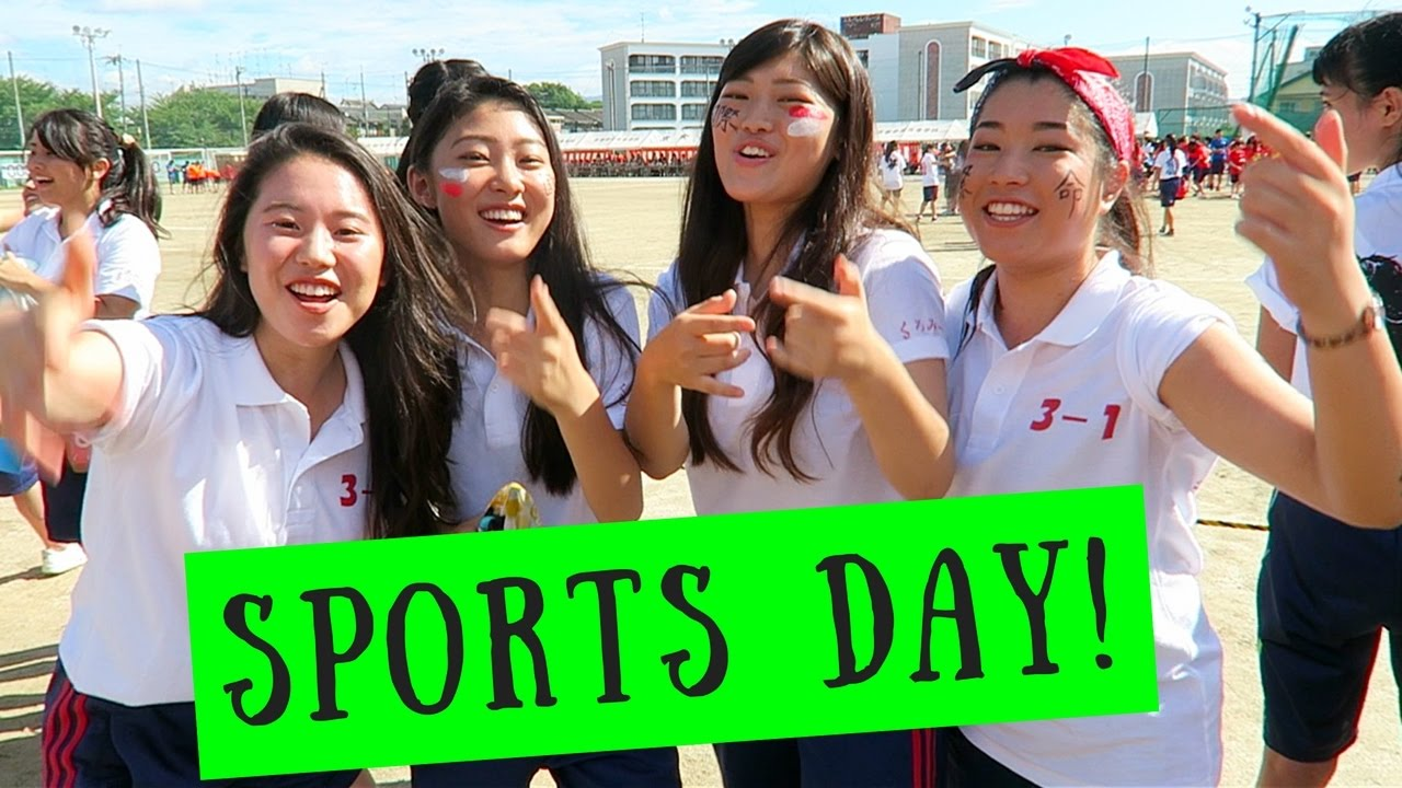 Japanese High School Sports Festival!