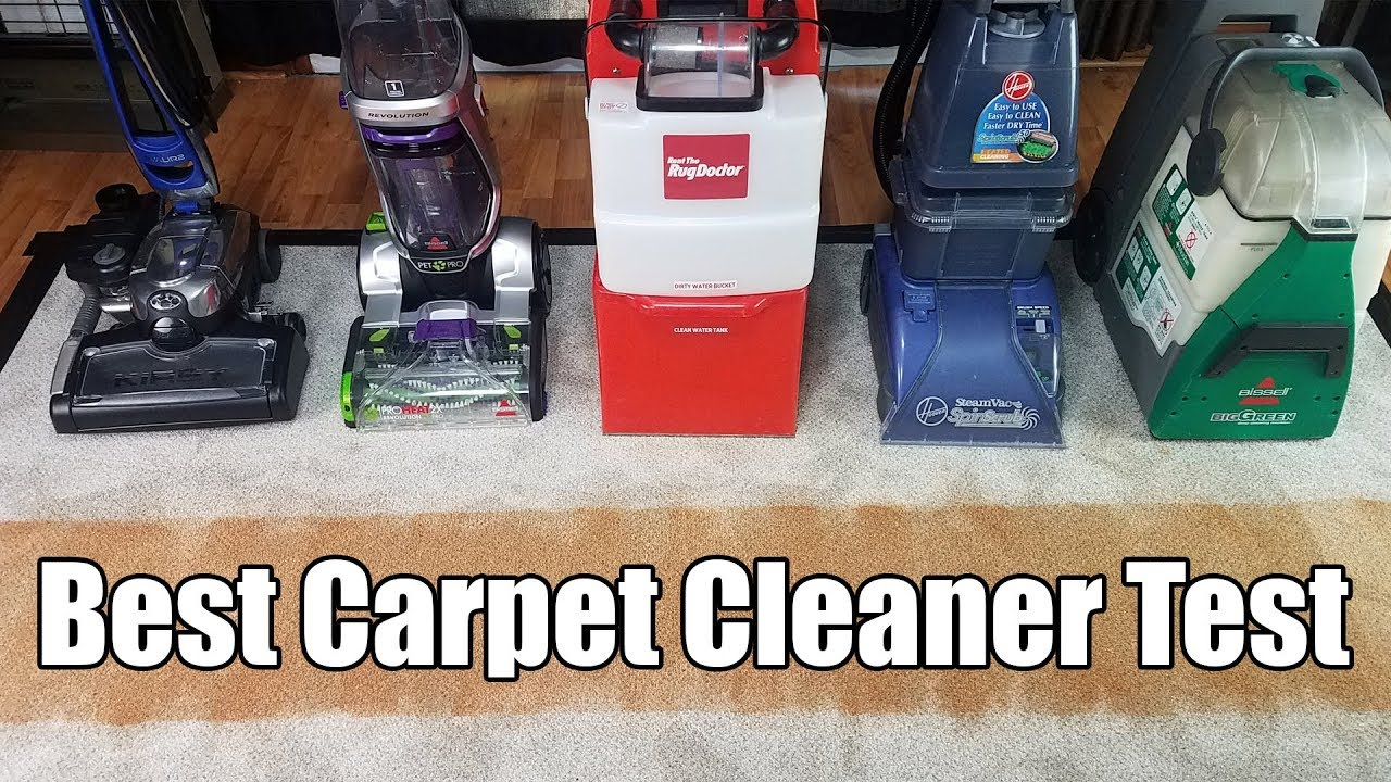 Best Carpet Cleaning Machines Tested 2018