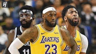 Los Angeles Lakers Vs Brooklyn Nets   Full Game Highlights | October 10, 2019 | 2019 Nba Preseason