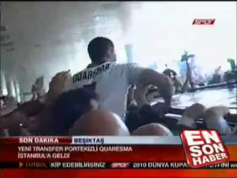 Arrivo Ricardo Quaresma a Istanbul, trasferimento al Besiktas