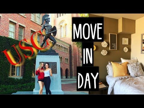 COLLEGE MOVE IN DAY - USC || 2018