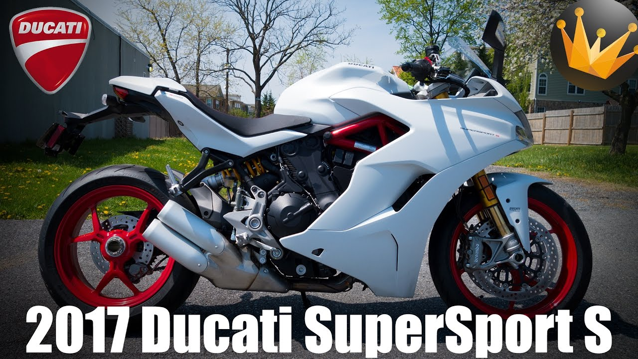 2017 ducati supersport s first ride review youtube. Black Bedroom Furniture Sets. Home Design Ideas