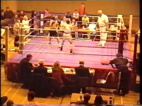 Aldercarg and Langley mill boxing show and I box Sam Gorman a national title winner very close bout