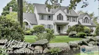 Loew Estate House for Sale, Milton Ma