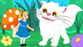Alice Harikalar Diyarında çizgi film masal ve Çocuk Şarkıları - Adisebaba Masal