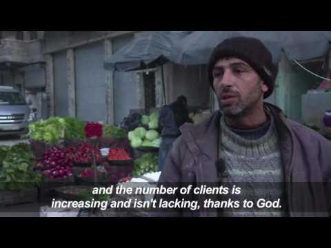 Syria's rubble-strewn east Aleppo comes back to life
