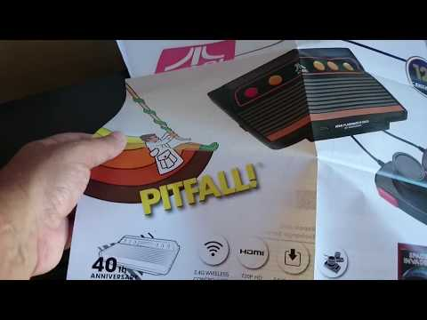 Repeat Unboxing Atari Flashback 8 Gold Deluxe By Decio