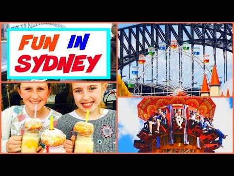 Sydney Luna Park and Zoo Travel Vlog ❤  Fun On A Sydney Vacation! ❤