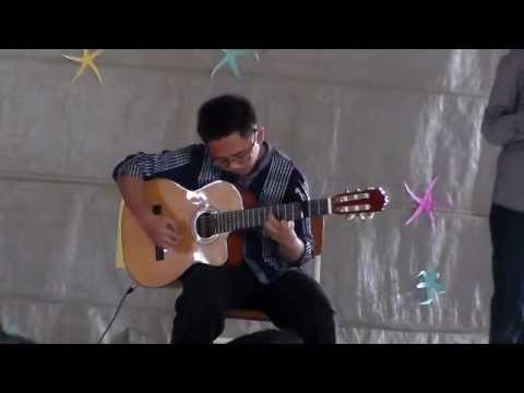 (K-ON!!!) Tenshi ni Fureta yo - Fakhrian Hanif Tejo B (TEJO) Guitar cover FROM SMP AL MUSLIM