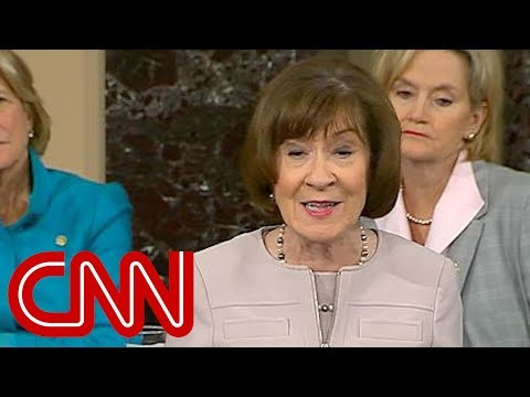 Laura Anderson - Susan Collins Must-Watch Kavanaugh Confirmation Speech
