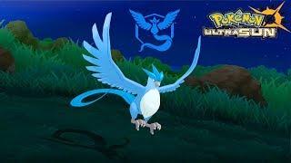 Pokemon Ultra Sun and Ultra Moon Tập 30:  Articuno Băng giá Đại Diện Team Mystic