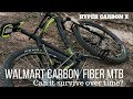 Can a Walmart Carbon Fiber Bike Survive? | Hyper Carbon X Mountain Bike