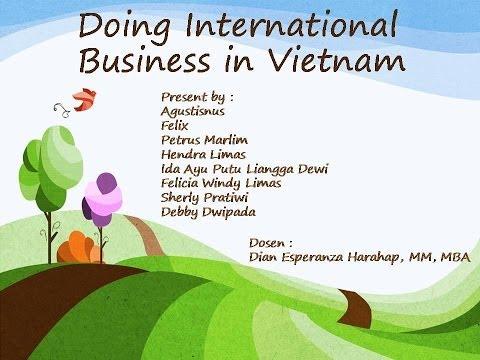 Doing International Business in Vietnam - MM Untar