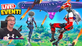 Nick Eh 30 reącts to Fortnite's Operation Sky Fire EVENT!