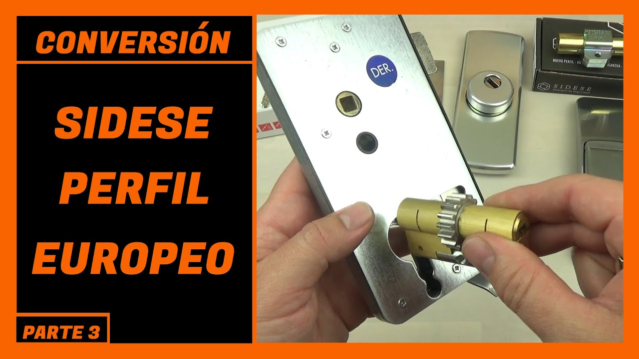 SIDESE A PERFIL EUROPEO [ADAPTACION SIDESE] [COVERSION] [BOMBIN SIDESE]