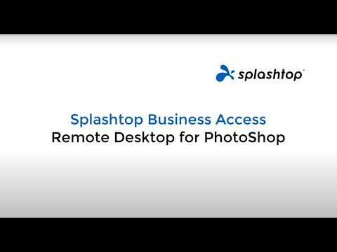 Remote Desktop for Photoshop