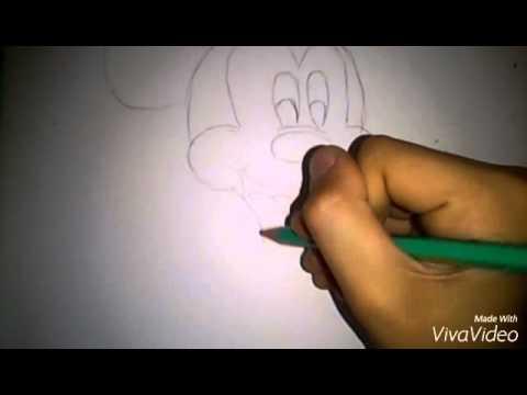 Рисуем Микки Мауса