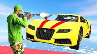 HEADSHOT The DRIVER To WIN! (GTA 5 Funny Moments)