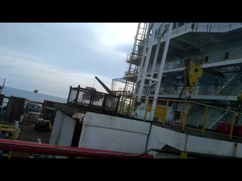 Akomodasi work barge(CraneBas)