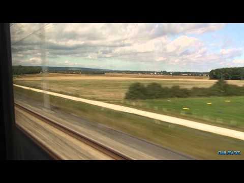 LGV Est TGV Ride 320km/h (Strasbourg - Paris)