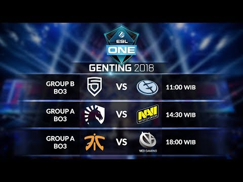 VICI GAMING  [CN] vs FNATIC [MY] (BO3) Group A @ESL ONE Genting Group Stage day 2