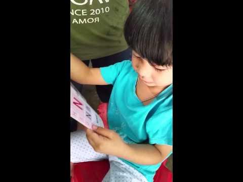 น้อง มณีฝึกอ่าน ABC
