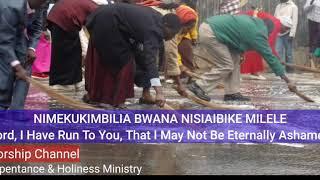 NIMEKUKIMBILIA EWE BWANA NISIAIBIKE MILELE