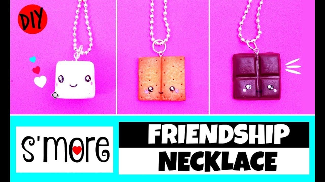 Diy Friendship Necklace Bff Gift