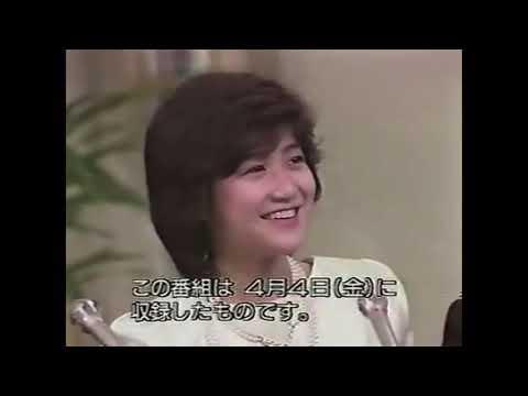 岡田有希子さん最後の収録😢