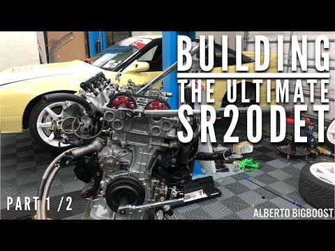 ULTIMATE SR20 BUILD ULTRA DETAILED VIDEO! PART 1
