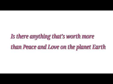Steven Universe- Peace and Love (Song) Lyrics
