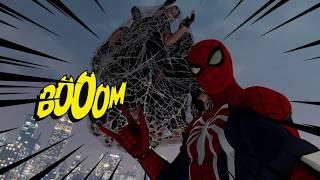 【Marvel's Spider-Man】フィスクのアジト ノーダメージクリア【神ゲー】