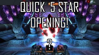 INTERESTING QUICK 5 STAR CRYSTAL OPENING! NEW 5 STAR? (MCOC)