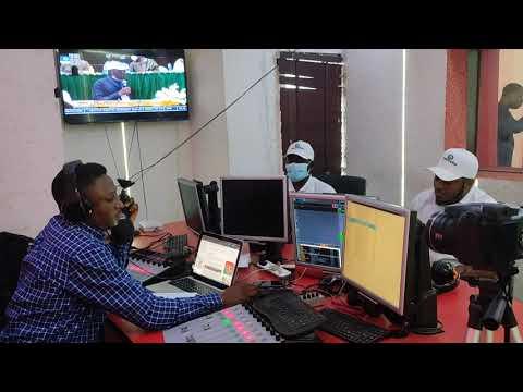 Radio Visit to 99.9 Kissfm Abuja