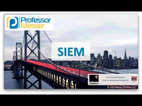 SIEM - CompTIA Network+ N10-006 - 2.1