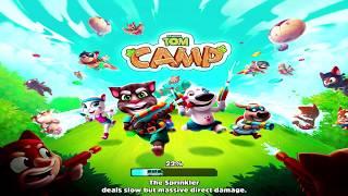 Talking Tom Camp Gameplay Walkthrough Episode 3 l Talking Tom Games For Kids