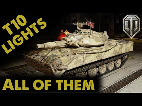 Tier X Light Tanks / All of them - WoT Console