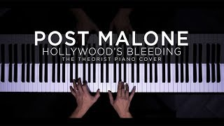 Post Malone - Hollywood's Bleeding   The Theorist Piano Cover (with Lyrics)