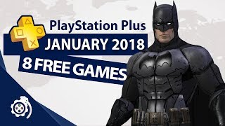 PlayStation Plus (PS+) January 2018