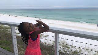 Naiah and Elli at the Beach House!
