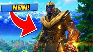 NEW AVENGERS GAMEMODE - Fortnite: Battle Royale (Thanos)
