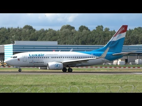 [15+ min.] Plane Spotting at Luxembourg Airport Findel | Great Views with sunshine!