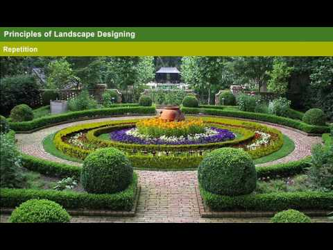 Horticulture Landscaping And Its Principles Year 2 Youtube